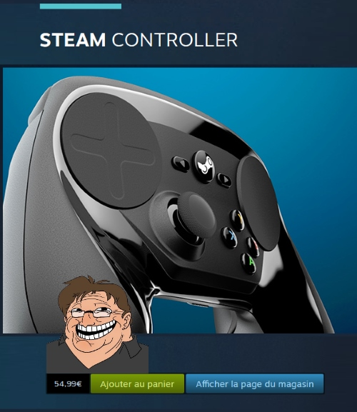 prix steam controller