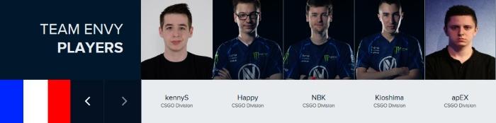 team envy us csgo