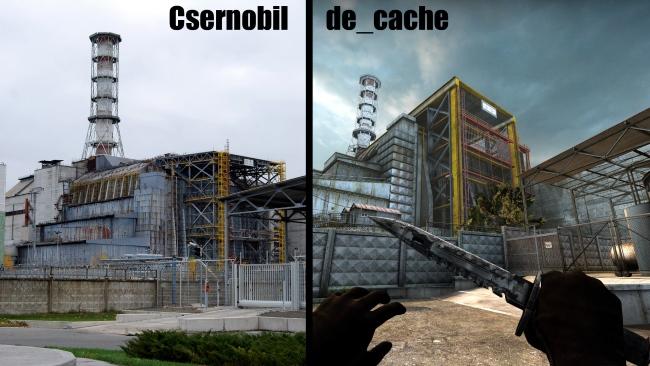 de cache tchernobyl