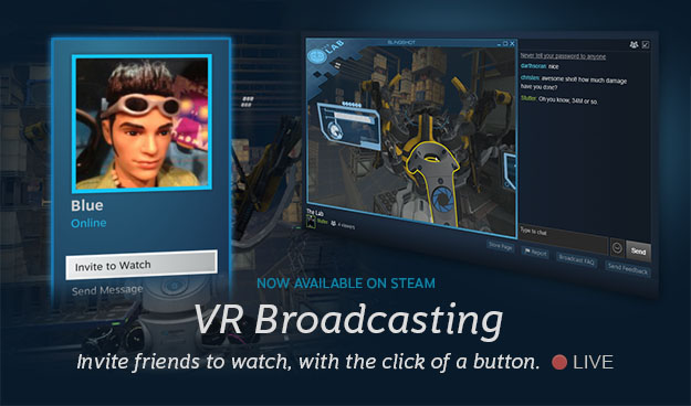 Image Steam Broadcast VR
